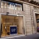 Esterno Gap Store Roma