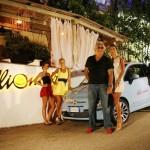 Flavio Briatore e Elisabetta al Billionaire