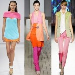 Il color blocking in passerella
