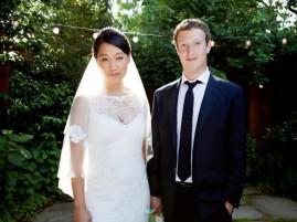 Il fondatore di Facebook si è sposato
