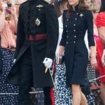 Kate Middleton elegantissima in Alexander McQueen