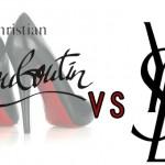 Louboutin vs YSL sulle scarpe dalle suole rosse