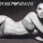 Megan Fox per Emporio Armani