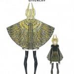 Una regina vestita Givenchy