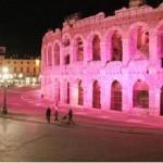 Campagna Nastro Rosa 2012 - i monumenti si tingono di rosa