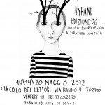 Byhand . 18 - 20 Maggio - Torino, Circolo del Lettori