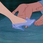 Le scarpette di cristallo di Cenerentola