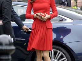 Kate Middleton in Alexander McQueen per il Giubileo della Regina